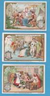 CHROMOS - Liebig, Série Complète, Dimensions 7,4 X 11,1 Environ - Liebig