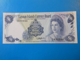 Cayman Islands Iles Cayman 1 Dollar 1974 P5b UNC - Billets