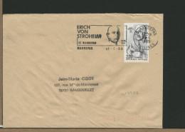 FRANCE - MAUREPAS - ERICH VON STROHEIM - ATTORE REGISTA SCENEGGIATORE