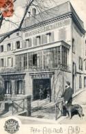 Tarn - Albi - Publicite Du Photographe Et Magasin De G Aillaud - Rue Jardin National- Sans Doute Lui Et Son Chien? - Albi