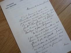 Albert DORMOY (1862-1941) Député BORDEAUX Fonderie. [ Boulogne Sur Gesse ]. AUTOGRAPHE - Autografi