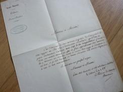 Antoine BAUDOIN (1768-1853) BOURGES. Député 1815 SANCERRE (Empire 100 JOURS). Autographe - Autogramme & Autographen
