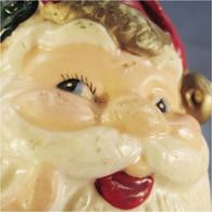 *BOUGIE TÊTE PERE NOEL - Fête Anniversaire Eclairage Sculpture - Père-Noël
