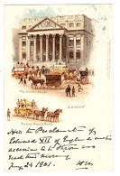 LONDON - The Mansion House - The Lord Mayor´s Coach - Ed. Raphael TUCK & Sons, ´View´ Postcard N° 9 - Tuck, Raphael