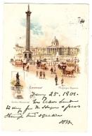 LONDON - Trafalgar Square - Ed. Raphael TUCK & Sons, ´View´ Postcard N° 11 - Tuck, Raphael