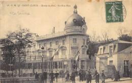 CPA 92 ST CLOUD ENTREE DU PARC PAVILLON BLEU 1912 - Saint Cloud