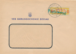 DESSAU - 1958 , Zentraler Kurierdienst - VEB Gärungchemie Dessau - DDR