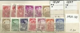 """Sowjetunion 2230,2231,2434-2440 """"9 Freimarken """" Gestempelt Mi.: 6,20 - 1923-1991 URSS"""