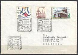 1-882 // CZECH R.  LETTER From  PRAHA  To  BULGARIA -  SOFIA   1993 - Tschechische Republik