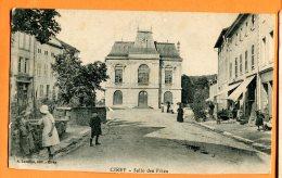 LIPP057, Cirey, Salle Des Fêtes, Rue Du Village, Animée, Circulée Sous Enveloppe - Cirey Sur Vezouze