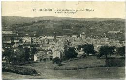 12 ESPALION ++ Vue Générale. à Gauche L'Hôpital à Droite Le Collège ++ - Espalion