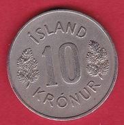 Islande - 10 Kr 1970 - Iceland
