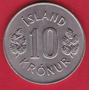 Islande - 10 Kr 1972 - Iceland