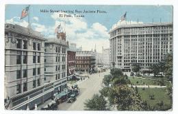 El Paso - Mills Street Fronting San Jacinto Plaza - El Paso