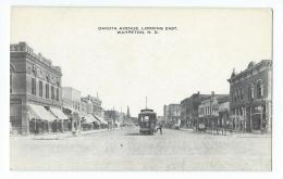 Wahpeton - Dakota Avenue, Looking East - Wahpeton