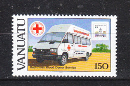 Vanuatu   -   1994. Croce Rossa. Autolettiga. Red Cross Ambulance. MNH - Croce Rossa