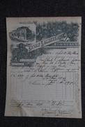Facture Ancienne  ,BORDEAUX - VENTE DE RHUM - ERNEST LASSERRE - 1800 – 1899