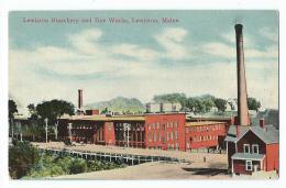 Lewiston - Lewiston Bleachery And Dye Works - Lewiston