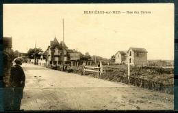 # - BERNIERES SUR MER - Rue Des Ormes (carte Vierge) - Sonstige Gemeinden