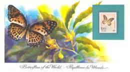 Butterflies Of The World ** Sri Lanka 1983  Cethosia Nitneri Neitneri - Schmetterlinge