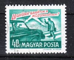 Ungheria   Hungary  -   1973. Prevenzione Incidenti; Dare La Precedenza. Preventing Accidents; Give Way. - Incidenti E Sicurezza Stradale