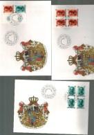 Luxembourg F D C Carnet Grand Duc Jean 1989 - FDC