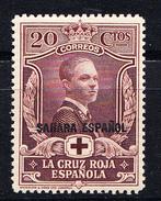 SAHARA 1926 CRUZ ROJA. SELLOS DE ESPAÑA HABILITADOS   EDIFIL Nº 16 NUEVO CON CHARNELA   SES393GRANDE - Sahara Español