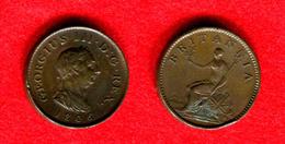 GRANDE BRETAGNE - GREAT BRITAIN - GEORGE III -  FARTHING 1806 - TRES BELLE MONNAIE - 1662-1816 : Anciennes Frappes Fin XVII° - Début XIX° S.