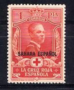 SAHARA 1926 CRUZ ROJA. SELLOS DE ESPAÑA HABILITADOS   EDIFIL Nº 22 NUEVO CON CHARNELA   SES393GRANDE - Spanish Sahara