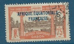 Gabon   -  Yvert N° 104 Oblitéré - Ava13408 - Gabon (1886-1936)