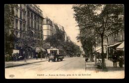 75 - PARIS 17EME - AVENUE DE CLICHY PRISE DE LA RUE ST-JEAN - Paris (17)