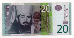 Serbia - Banconota Da 20 Dinari - Usata - (FDC 1490) - Serbia