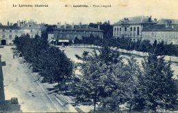 N°51715 -cpa Luneville -place Léopold- - Luneville