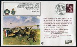 1979 GB Germany Koln RAF Northolt, Hawkinge FF 1-A Flight Cover - 1952-.... (Elizabeth II)