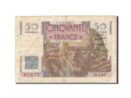 France, 50 Francs, 1946, 1949-11-03, KM:127b, TB, Fayette:20.13 - 50 F 1946-1951 ''Le Verrier''