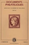 Documents Philateliques - Numero 119 - Voir Sommaire - Littérature