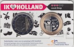 @Y@   Nederland Coincard 2 Euro 2016  IK HOU VAN HOLLAND  In BU Quality - Nederland