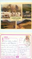 Leenane,  Co Galway, Ireland Postcard Posted 1993 Stamp - Galway