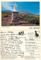 Croagh Patrick,  Co Mayo, Ireland Postcard Posted 1998 Stamp