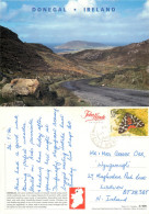 Co Donegal, Ireland Postcard Posted 1994 Stamp - Donegal