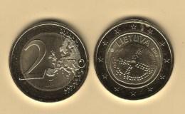 @Y@  Litouwen  2 Euro Commemorative    2016  UNC - Litauen