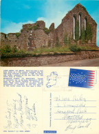 Cong Abbey,  Co Mayo, Ireland Postcard Posted 1976 Stamp