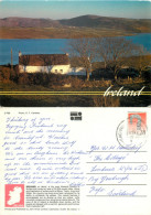 Cottages, Ireland Postcard Posted 1992 Stamp - Irlande