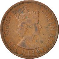 Etats Des Caraibes Orientales, Elizabeth II, 2 Cents, 1965, TTB, Bronze, KM:3 - Caribe Oriental (Estados Del)