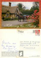 Jaunting Car,  Killarney,  Co Kerry, Ireland Postcard Posted 1997 Stamp - Kerry
