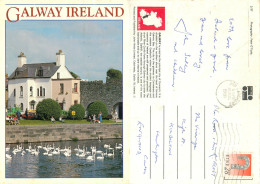 Galway City, Ireland Postcard Posted 1991 Stamp - Galway
