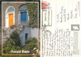 Dublin, Ireland Postcard Posted 1996 Stamp - Dublin