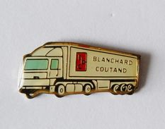 Pin's Camion Blanchard Coutand - 39R - Pin's