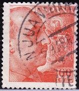 1949 1054 FRANCO DENTADO FINO USADO SAN JUAN DE LA RAMBLA TENERIFE RRR SPAIN SPANIEN ESPAGNE SPANJE - 1931-Today: 2nd Rep - ... Juan Carlos I