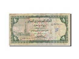 Yemen Arab Republic, 1 Rial, 1973-1977, Undated (1973), KM:11b, B+ - Yémen